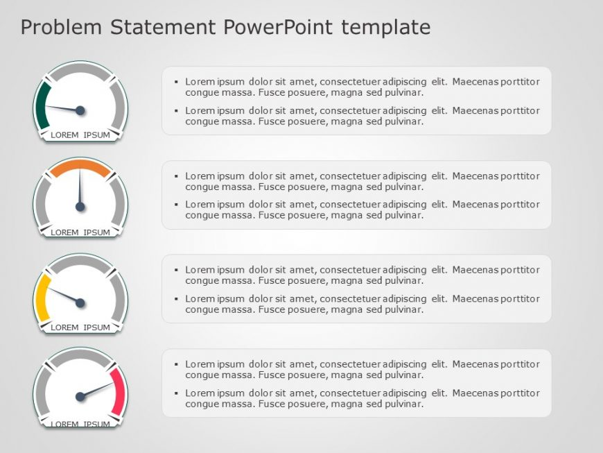 Problem Statement PowerPoint Template 5