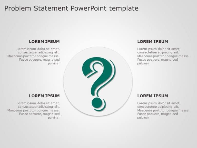 Problem Statement PowerPoint Template 2