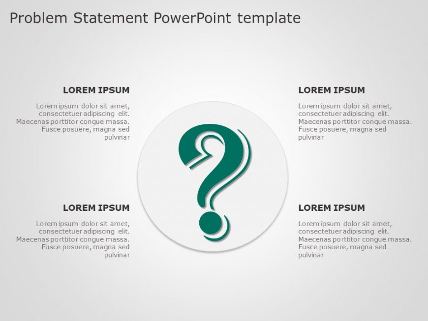 Problem Statement PowerPoint Template 2