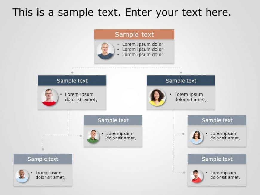 Org Chart PowerPoint Template 9