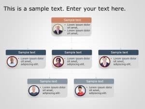 Org Chart PowerPoint Template 12