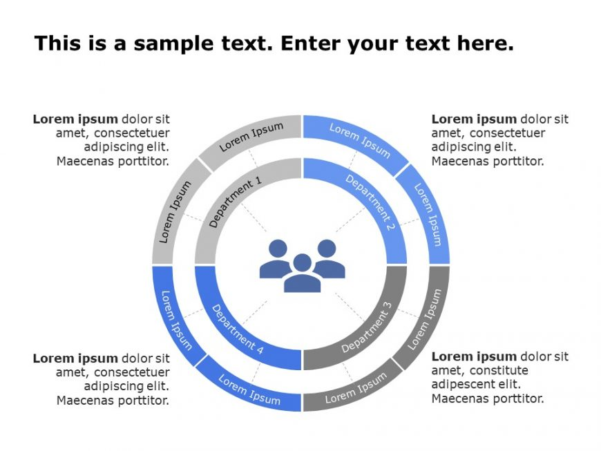 Org Chart PowerPoint Template 19