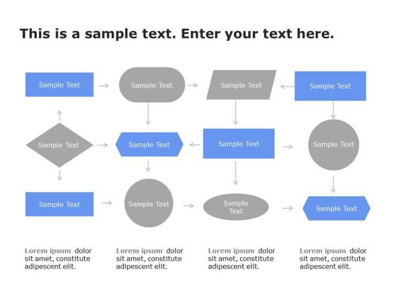 Flow Chart PowerPoint Template 3