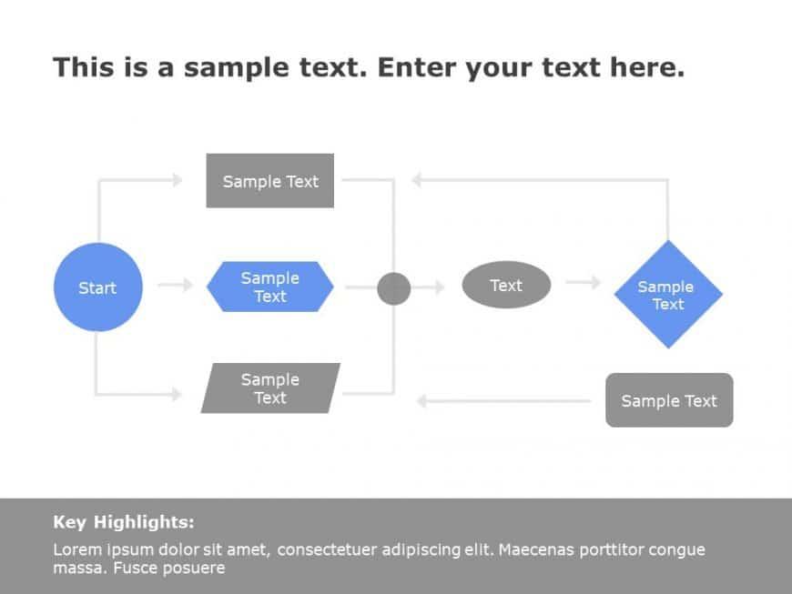 Flow Chart PowerPoint Template 4