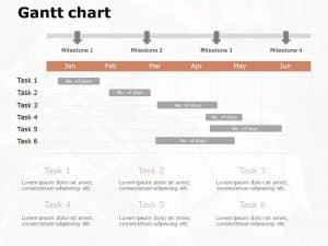 Gantt Chart PowerPoint Template 11