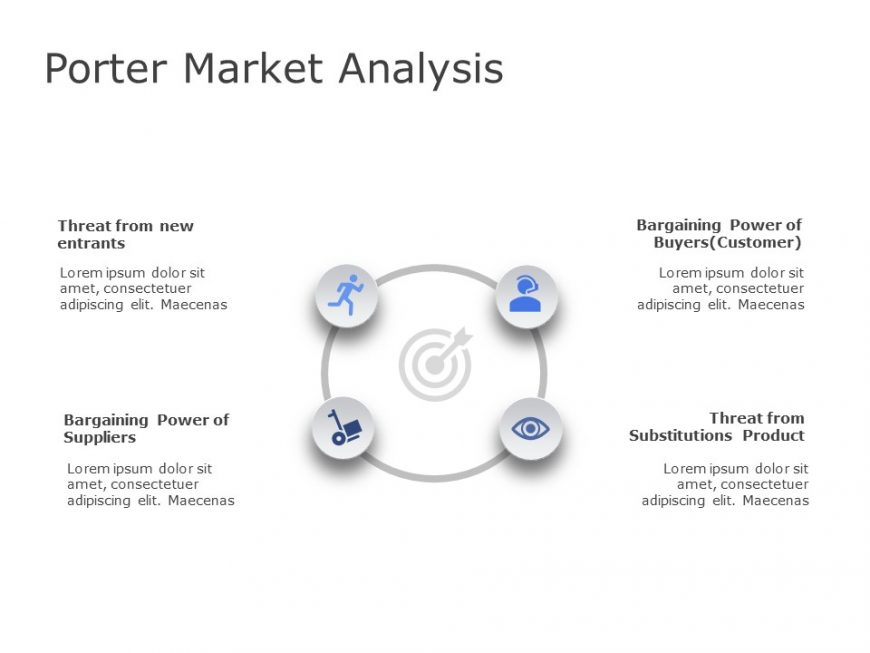 Porter Market Analysis PowerPoint Template 1
