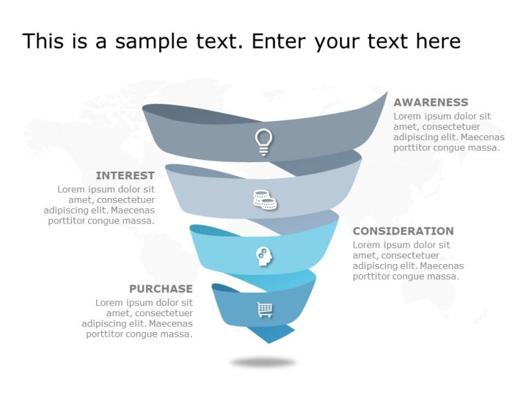 Funnel Analysis PowerPoint Diagram 2