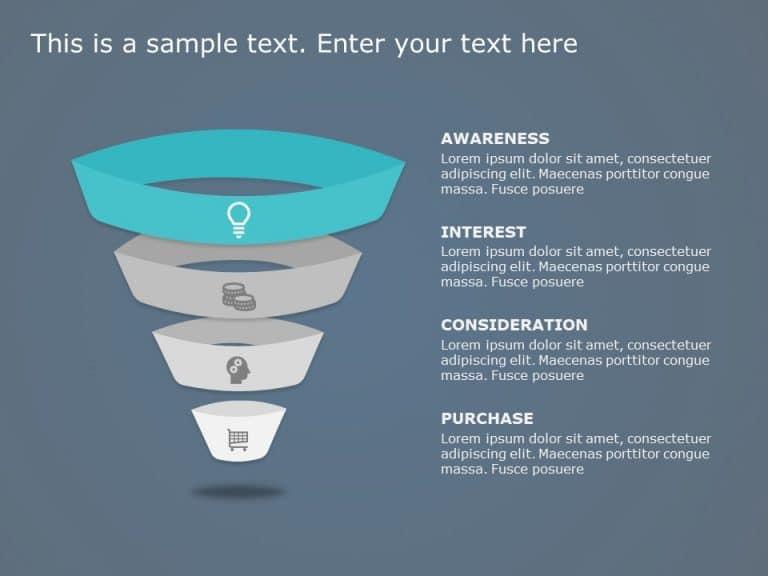 Funnel Analysis PowerPoint Diagram 5