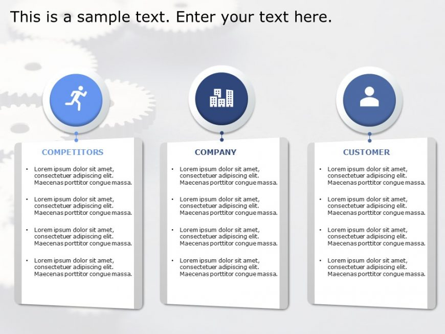 3Cs Marketing PowerPoint Template 1