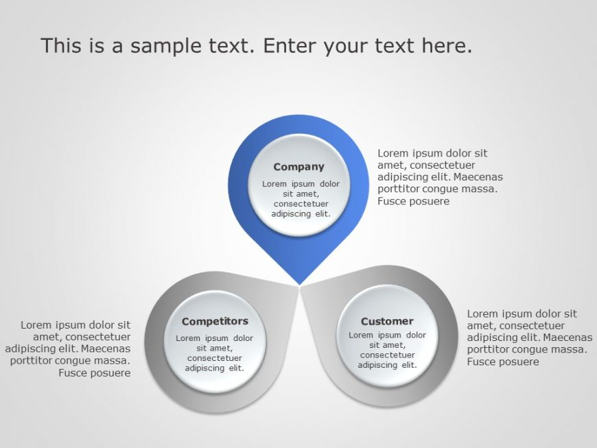 3Cs Marketing PowerPoint Template 4