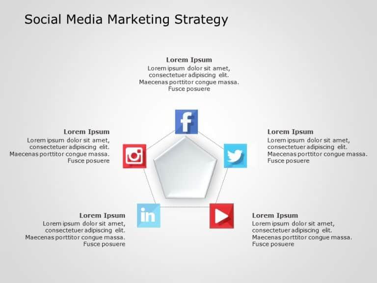 Social Media Marketing PowerPoint Template 1