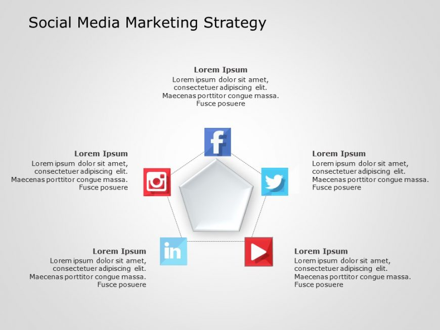 Social Media Marketing PowerPoint Template 1