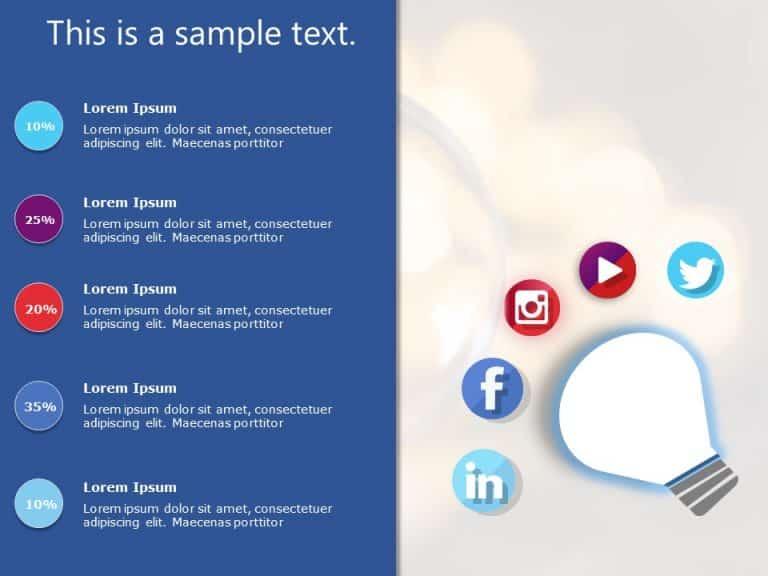 Social Media Marketing PowerPoint Template 2