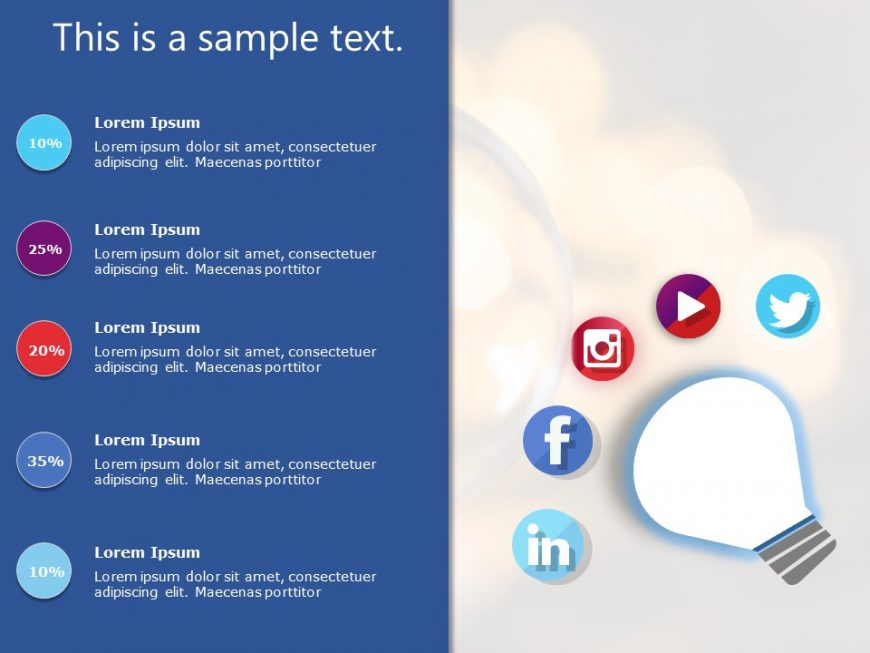 Social Media Marketing PowerPoint Template 2