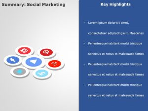 Social Media Marketing PowerPoint Template 3
