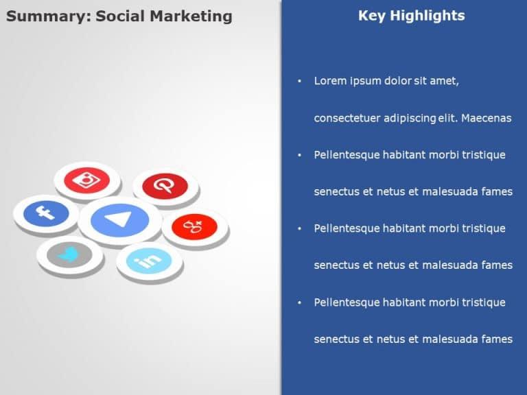 Social Media Marketing PowerPoint Template 3
