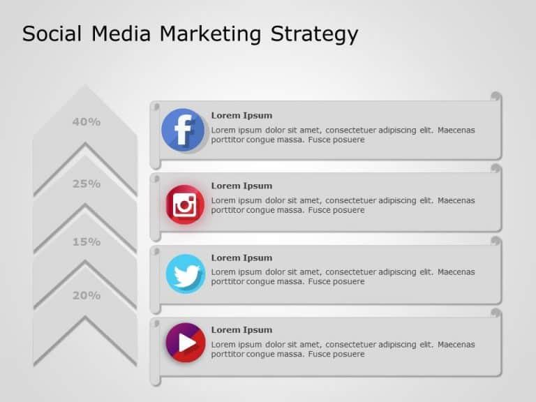 Social Media Marketing PowerPoint Template 4