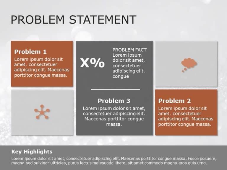 Problem Statement PowerPoint Template 4