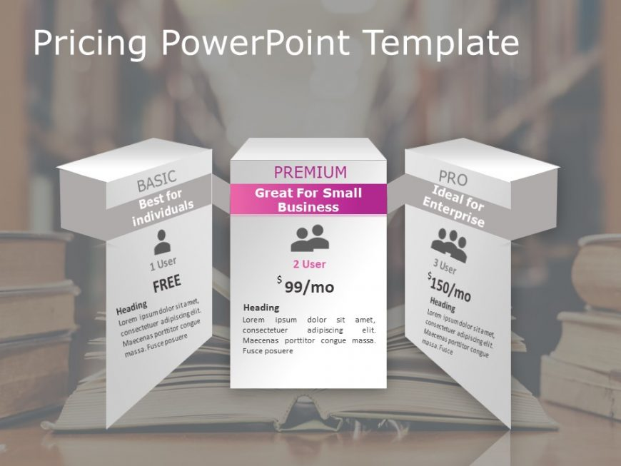 Pricing PowerPoint Template 1