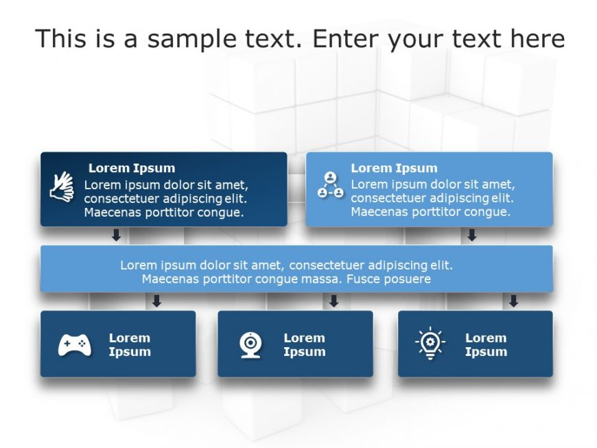 Flow Chart PowerPoint Template 10