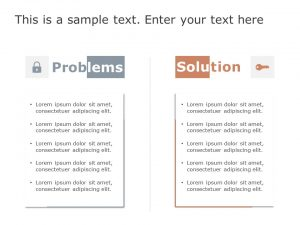 Problem & Solution PowerPoint Template 7
