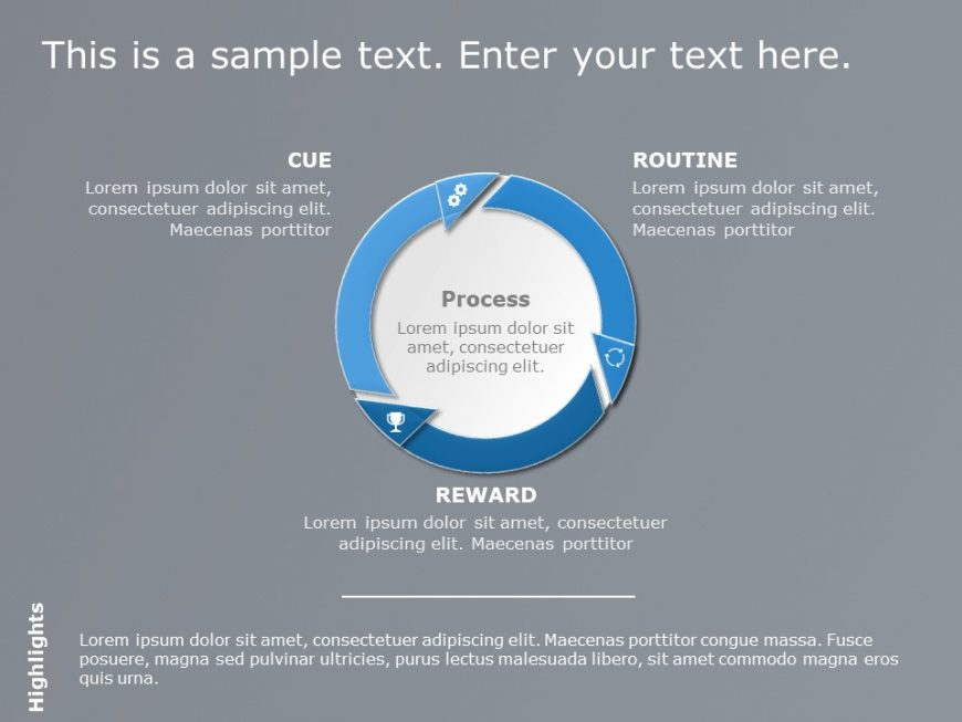 Target Audience Behavior PowerPoint Template
