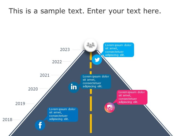 Social Media Roadmap PowerPoint