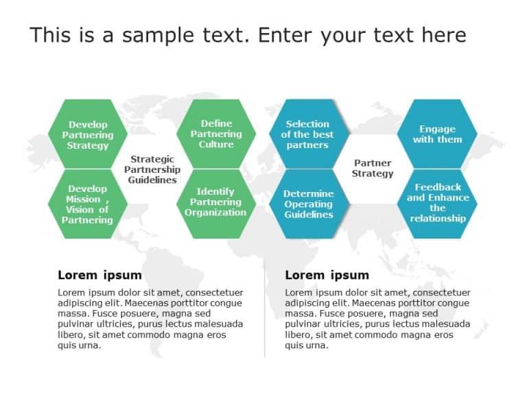 Partnership Engagement Strategy Hexagon