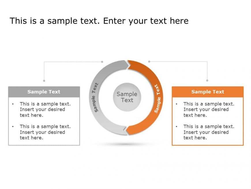 Process Chevron Diagram Powerpoint Template