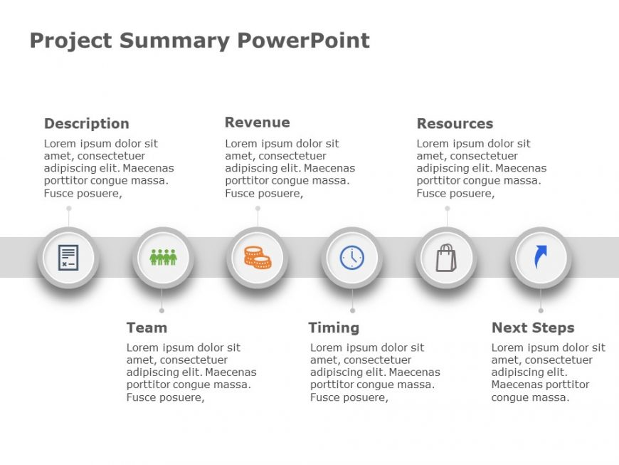 Project Summary Powerpoint Template 2