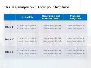Risk Assessment Powerpoint Template 1