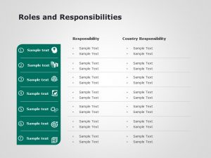 Roles And Responsibilities Powerpoint Template 1