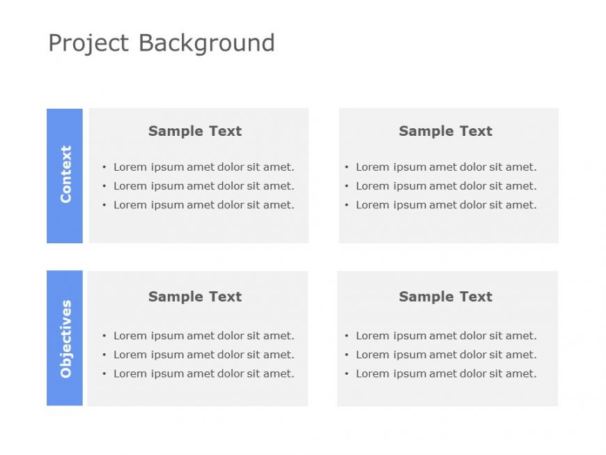 Project Background Powerpoint Template