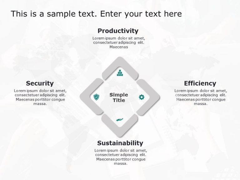 Strategy Change Impact Powerpoint Template