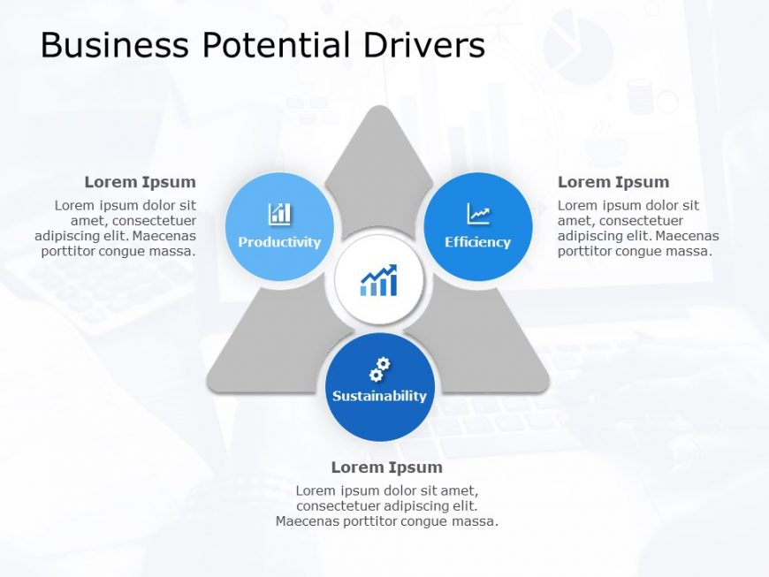 Business Potential Drivers Powerpoint Template