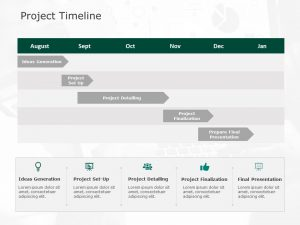 Project Timeline Powerpoint Template 2