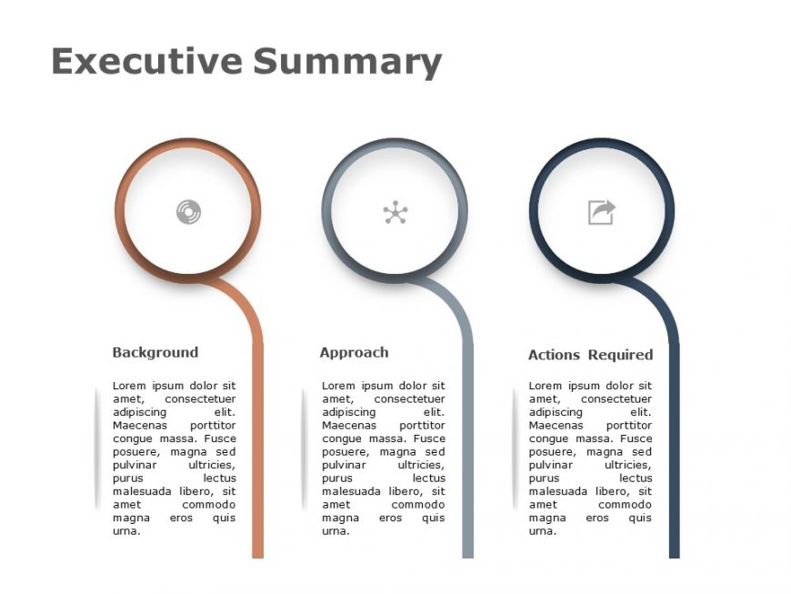 Executive Summary Powerpoint Template 3