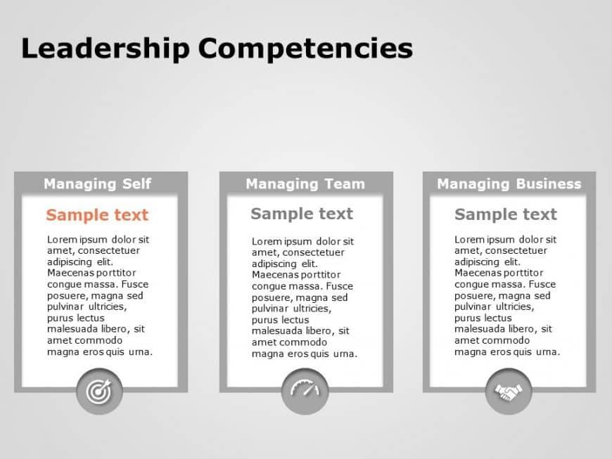 Leadership Competencies Powerpoint Template