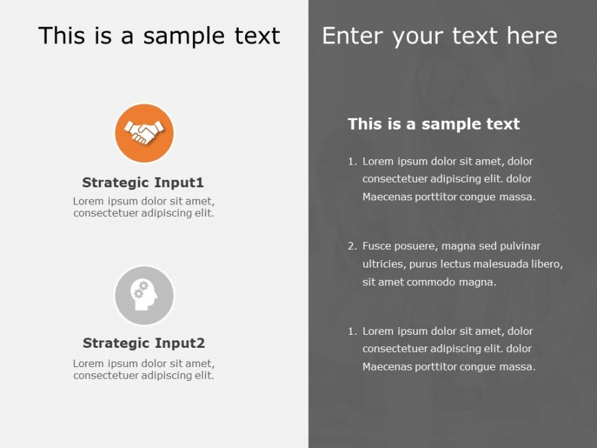 Key Strategy Highlight Powerpoint Template