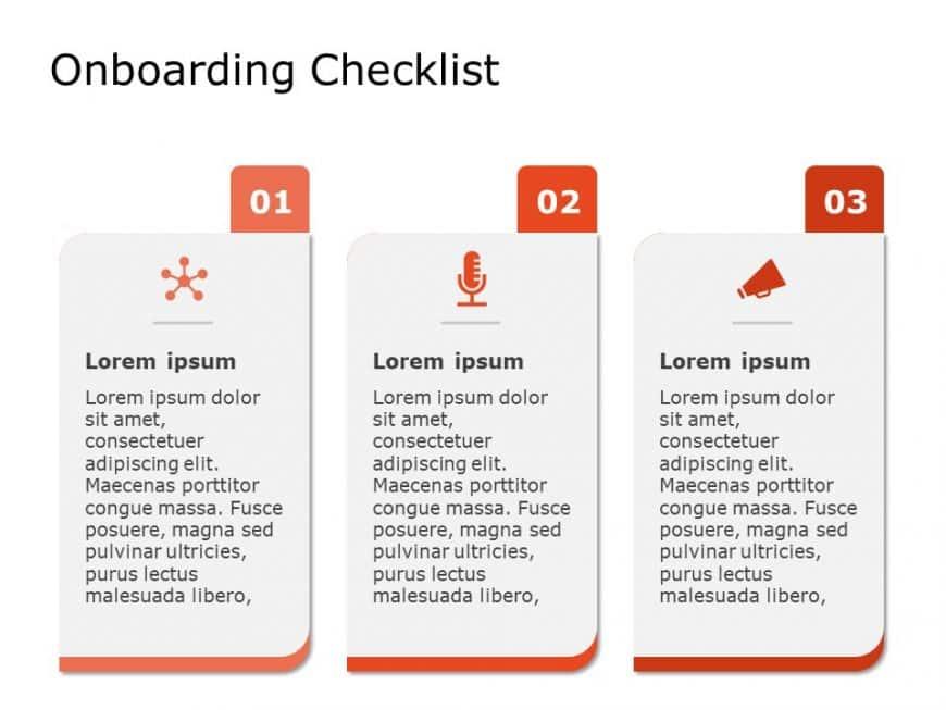 Onboarding Checklist Powerpoint Template