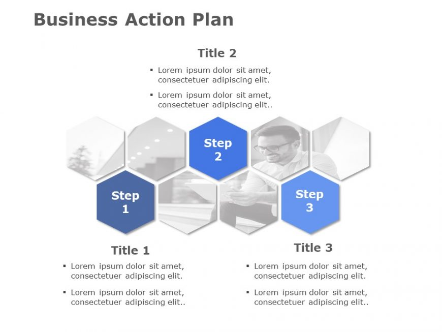 Business Action Plan Powerpoint Template