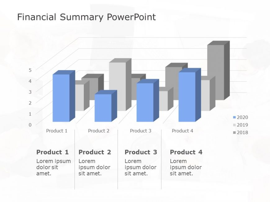 Financial Summary Powerpoint Template 3