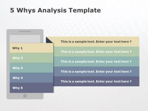 Detailed 5 Why Analysis PowerPoint 2