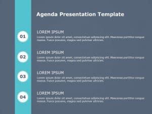 Free Agenda PowerPoint Template 9