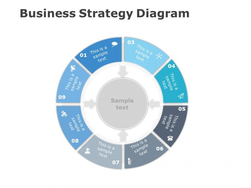 Business Strategy Diagram For Powerpoint 1