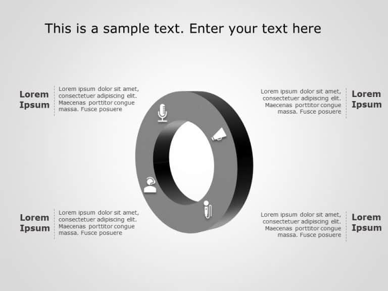 Circular Flow Chart PowerPoint Template