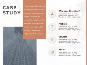 Free Case Study PowerPoint Template 9