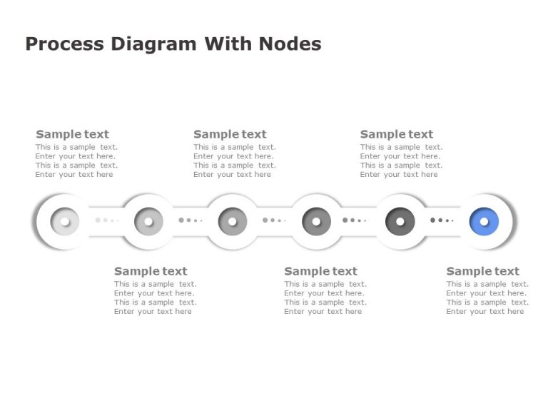 Free Process Diagram With Nodes
