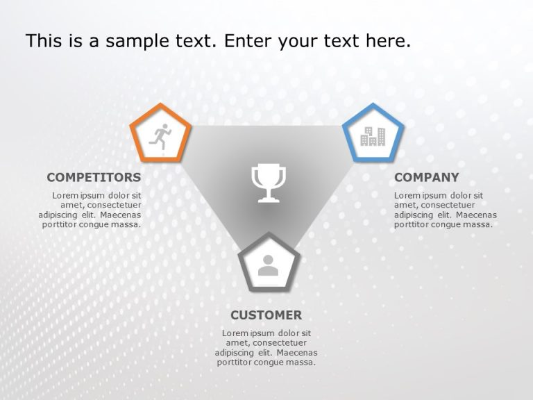 3 C's Of Marketing For PowerPoint