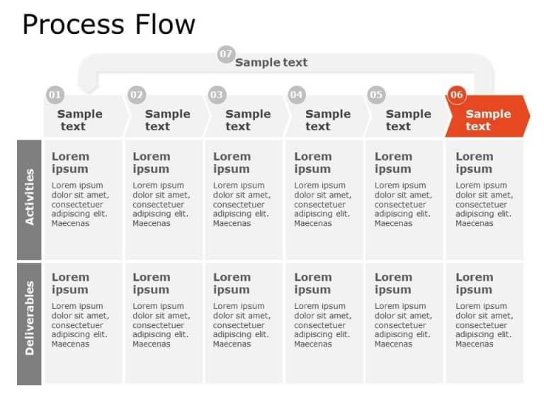 Process Flow Powerpoint Template 2
